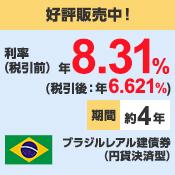 ブラジルレアル建債券(円貨決済型)