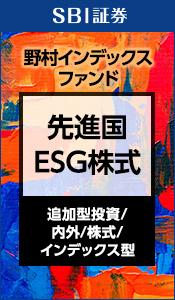 野村インデックスファンド 先進国ESG株式