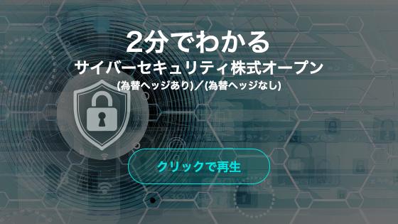 2分でわかるサイバーセキュリティ株式オープン(為替ヘッドあり)/(為替ヘッドなし)