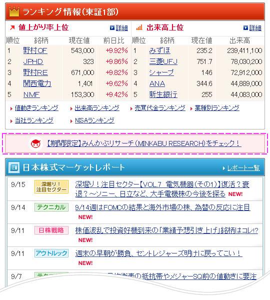 かぶ ランキング みん 買い予想数上昇ランキング【株式ランキング】
