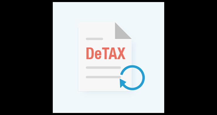税負担を自動で最適化してくれる(DeTAX機能)