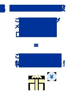 【3.ご家族・お友達が開設】ご家族・お友達の方がメール有効期間内に「口座開設完了」!→ご紹介者さまに特典プレゼント!
