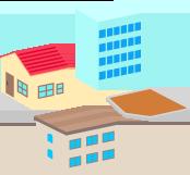 図:土地の評価額の計算方法